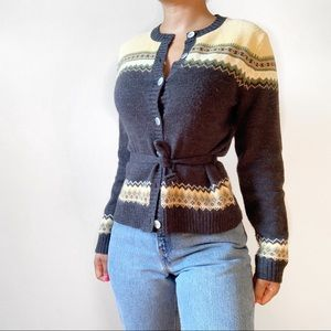 Sweaters - The Vintage Waist Tie Sweater